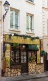Tradycyjny francuski cukierniany Poulbot, Paryż, Francja Zdjęcie Stock