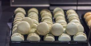 Tradycyjny francuski deserowy macaron Obrazy Royalty Free