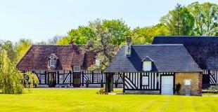 Tradycyjny Francuski dom wiejski Obrazy Royalty Free