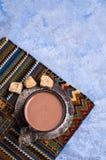 Tradycyjny gorący kakao zdjęcie stock
