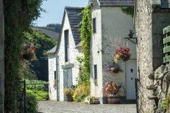 Tradycyjny gospodarstwo rolne dom w Wicklow górach Fotografia Stock