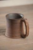 Tradycyjny handcrafted kubek Zdjęcie Royalty Free