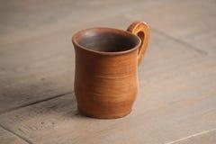 Tradycyjny handcrafted kubek Fotografia Stock