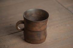Tradycyjny handcrafted kubek Obrazy Stock