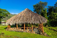 Tradycyjny hawajczyka dom zdjęcie royalty free