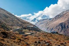Tradycyjny herbacianego domu kurort w górach Obraz Royalty Free