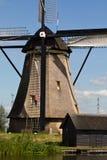 Tradycyjny Holenderski Wiatraczek Zdjęcia Stock