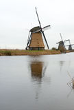 Tradycyjny Holenderski wiatraczek Zdjęcia Royalty Free