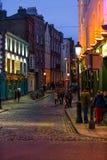 Tradycyjny Irlandzki pub wiking świątyni Karczemny bar Zdjęcia Royalty Free