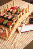 tradycyjny japoński posiłek obraz stock
