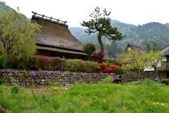 Tradycyjny Japoński góra dom zdjęcia royalty free
