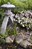 Tradycyjny japoński lampion Zdjęcia Royalty Free