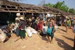 tradycyjny jeziorny Myanmar Zdjęcia Royalty Free