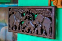 Tradycyjny Kandyan Woodcarving warsztat Obraz Royalty Free