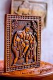 Tradycyjny Kandyan Woodcarving warsztat Zdjęcia Royalty Free