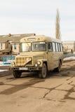 Tradycyjny KaVZ 685 rosjanina wioski autobus Zdjęcia Stock