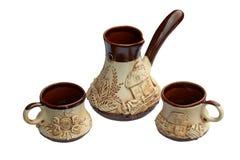 tradycyjny kawowy set Zdjęcie Stock