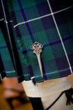 tradycyjny kilt scottish Zdjęcie Stock