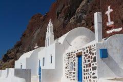 Tradycyjny kościół przy wejściem nazwana Rewolucjonistka Wyrzucać na brzeg w ten sposób - Zdjęcia Stock
