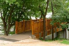 Tradycyjny koreańczyka dom w lecie, Południowy Korea Zdjęcie Stock