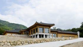 Tradycyjny Koreański ceremonialny budynek Obrazy Royalty Free