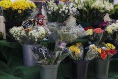 Tradycyjny kwiatu rynek w Jork Zdjęcia Royalty Free