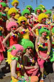 Tradycyjny lato samby karnawał w Helsinki na 7-8 2013 Czerwu. Fotografia Royalty Free