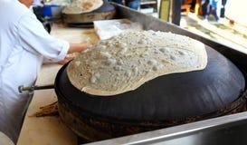 Tradycyjny Libański piekarnik Saj Zdjęcie Stock