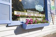 Tradycyjny lody sklep Zdjęcia Royalty Free