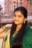 Tradycyjny Maharashtrian Girl-8 obraz royalty free