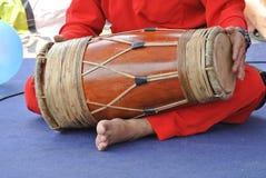 Tradycyjny malajczyk Gendang lub Tradycyjny Malajski bęben Zdjęcie Royalty Free