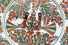 Tradycyjny malujący garncarstwo Obrazy Royalty Free