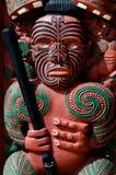 Tradycyjny Maoryjski Toi whakairo sztuki cyzelowanie Zdjęcie Royalty Free