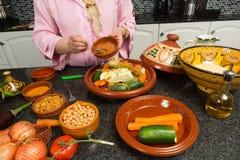 Tradycyjny Marokański kucharstwo Obrazy Stock