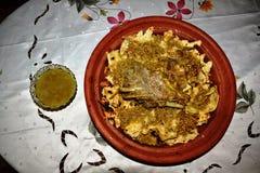 Tradycyjny Marokański Mięsny Rfissa zdjęcie royalty free