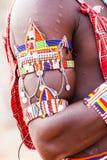 Tradycyjny Masai kostium Fotografia Royalty Free