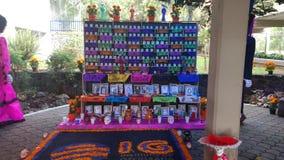 Tradycyjny Meksykański ofrenda Zdjęcia Stock