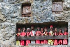 Tradycyjny miejsce pochówku w Taniec Toraja Fotografia Royalty Free