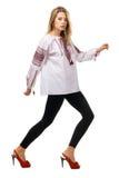 tradycyjny modny wzorcowy koszulowy slavic Obraz Stock