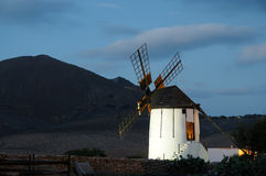 tradycyjny noc wiatraczek Obrazy Stock