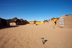 tradycyjny obozowy berber miejsce Obraz Stock