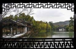 Tradycyjny ogród Xihu Zdjęcie Royalty Free