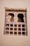 Tradycyjny okno, Timbuktu. Zdjęcie Royalty Free