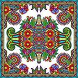 Tradycyjny ornamentacyjny kwiecisty Paisley bandanna Zdjęcia Royalty Free