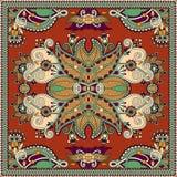 Tradycyjny ornamentacyjny kwiecisty Paisley bandanna Obrazy Royalty Free