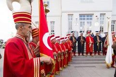 Tradycyjny Osmański wojsko zespół Zdjęcia Royalty Free