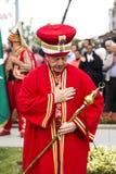 Tradycyjny Osmański wojsko zespół Zdjęcie Stock