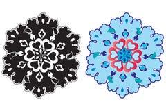 Tradycyjny Osmański projekt z wzorem Ilustracja Wektor
