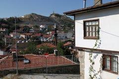 Tradycyjny otoman stwarza ognisko domowe w Beypazari Obrazy Stock