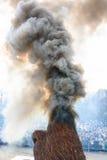 Tradycyjny palenie faszerujący wizerunek zdjęcia stock
